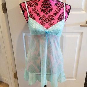 Victorias Secret Lingerie Nightie TWO Dress Small